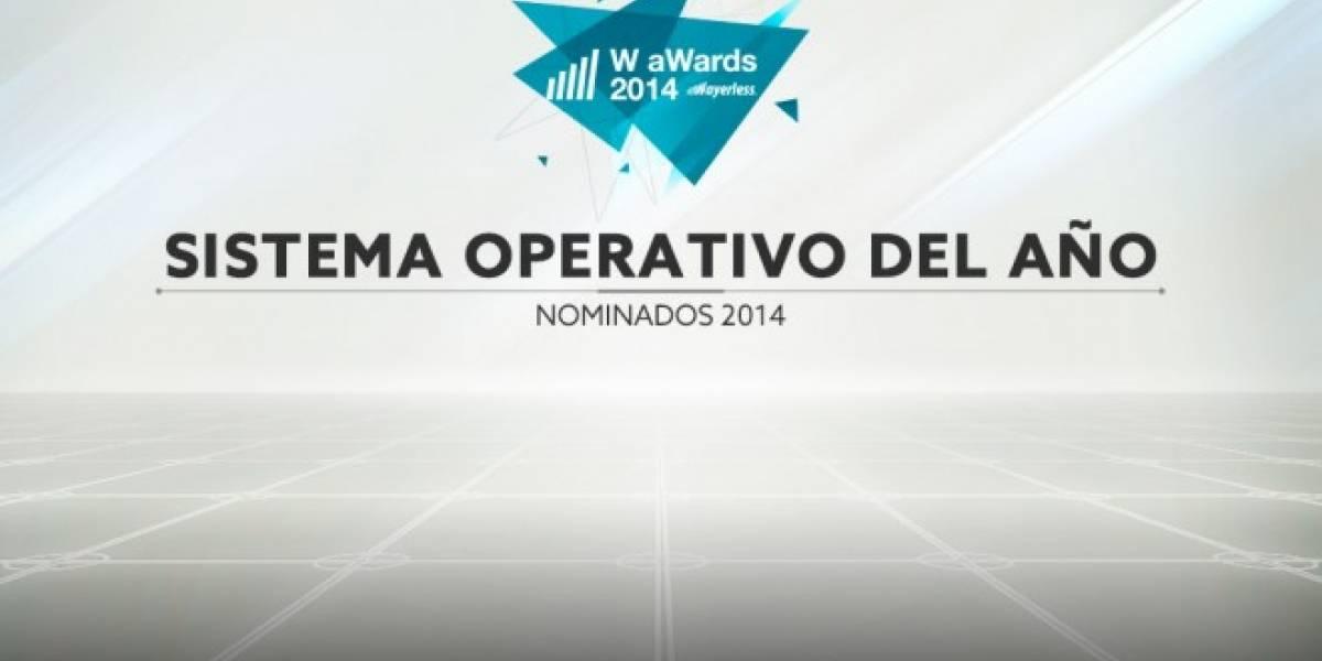 Vota por el Mejor Sistema Operativo del 2014 [W aWards]