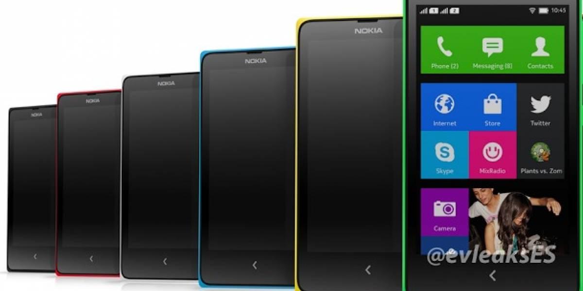 Nokia X con Android aparece en una tienda online