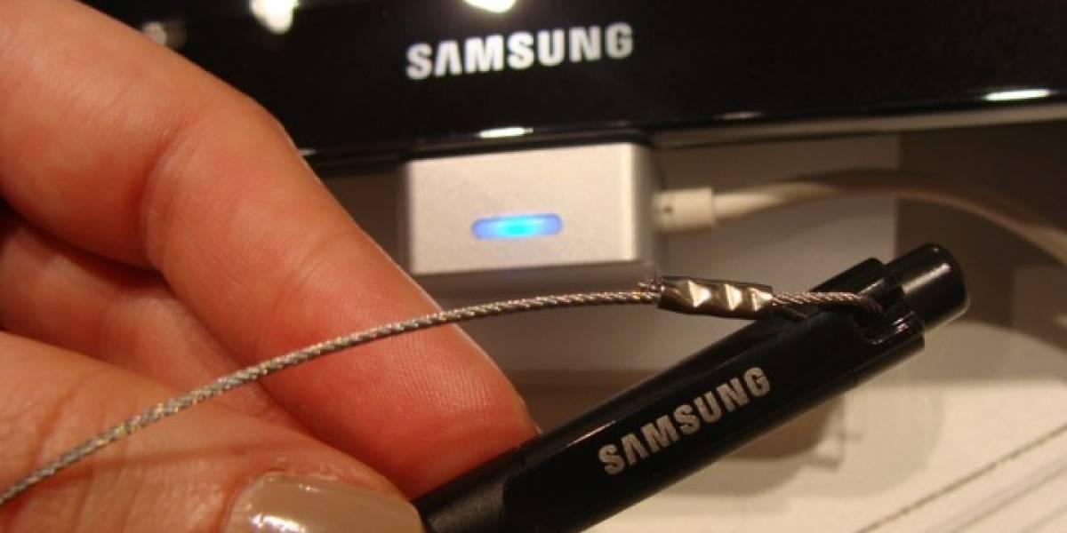 Samsung patenta un stylus con micrófono y parlante