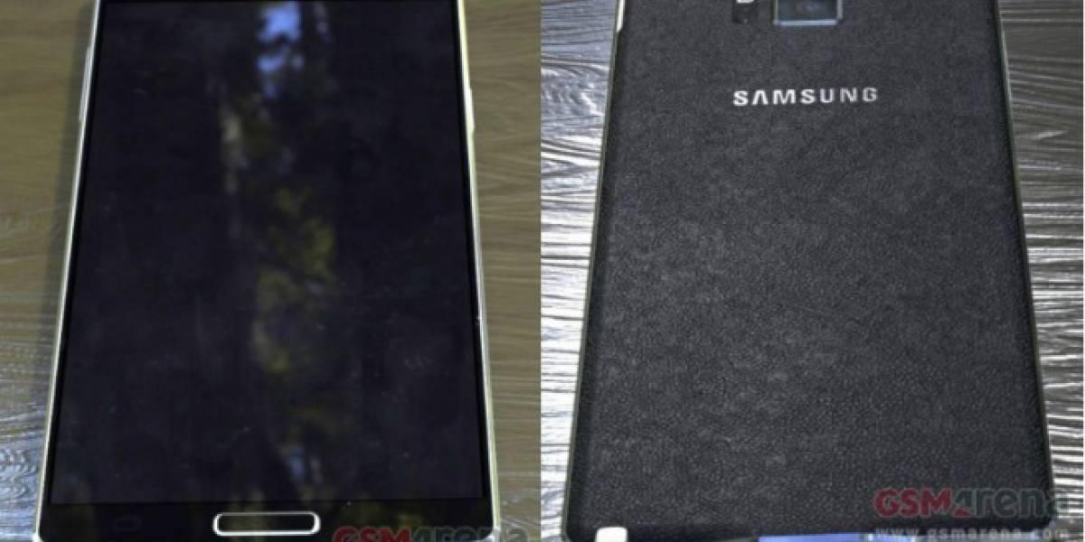 Aparecen detalles de la cámara del Samsung Galaxy Note 4