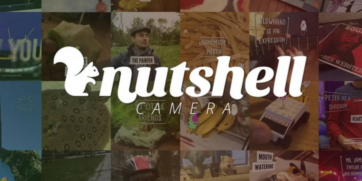 Nutshell, una aplicación de los creadores de Prezi que permite compartir vídeos cortos