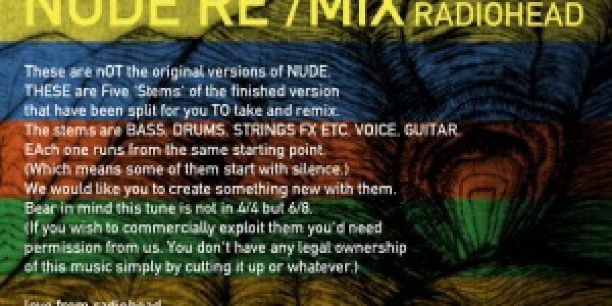 iTunes + Radiohead = Remixea Nude