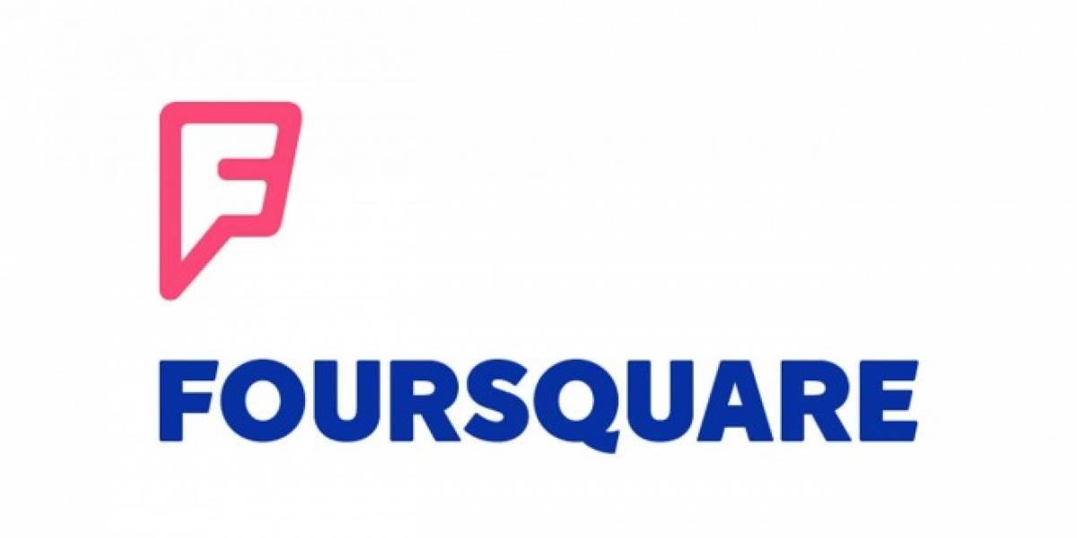 Foursquare presenta su nuevo logo y anuncia cambios en su aplicación