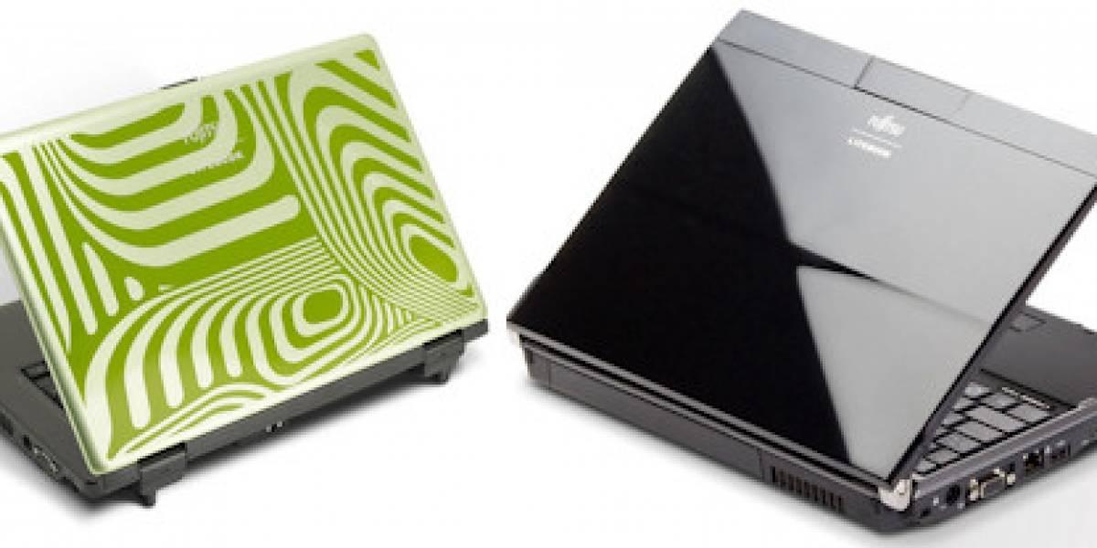Nuevos portátiles de Fujitsu, portabilidad multitáctil y diseño adaptable