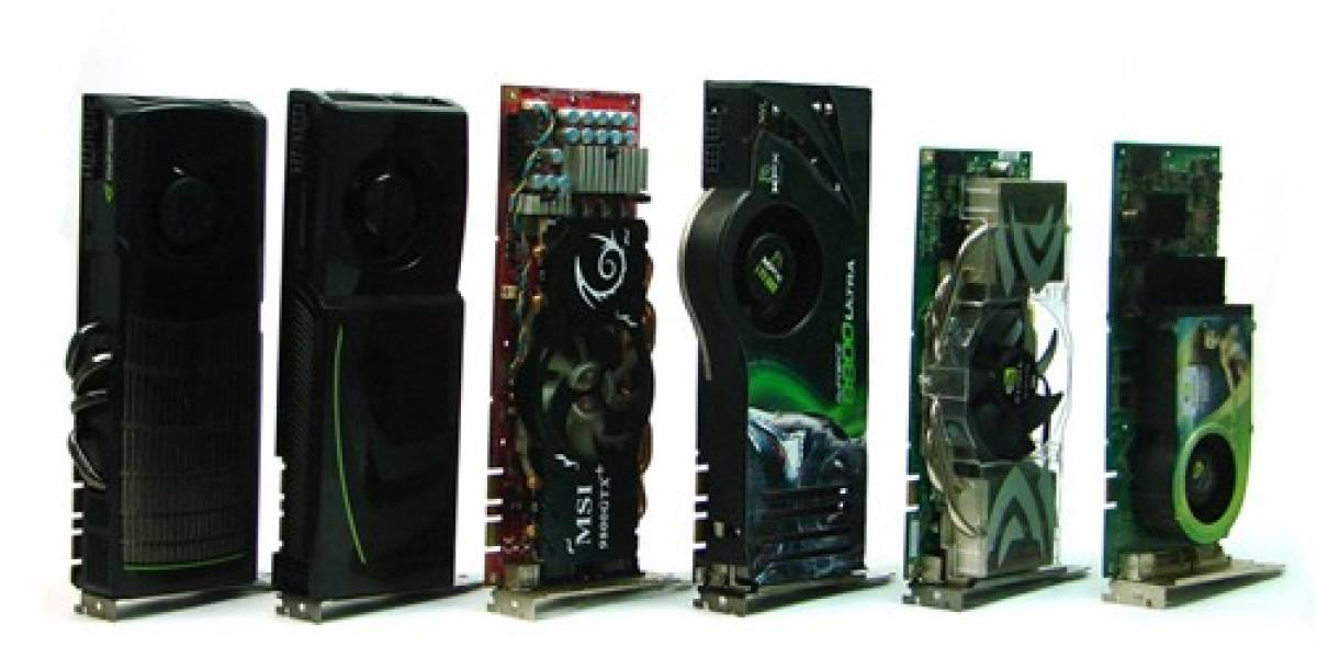 Comparativa: 6 generaciones de GPUs high-end de Nvidia