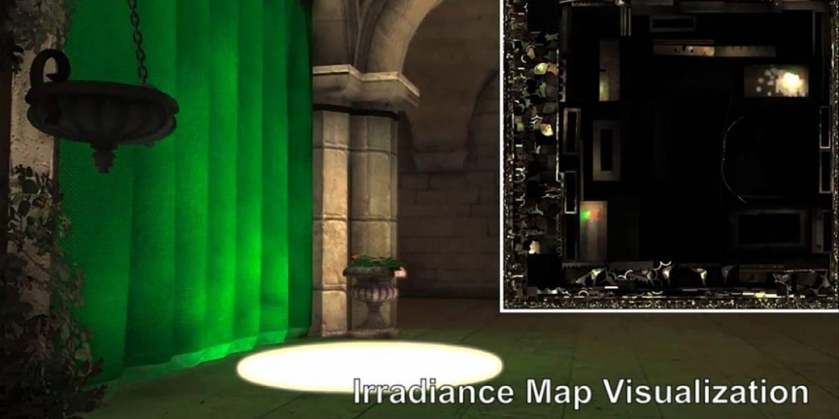 NVIDIA muestra CloudLight, su solución de iluminación gráfica en la nube