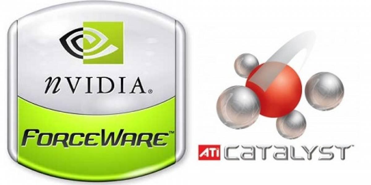 Catalyst 10.5 y Geforce/ION 197.75 análisis de rendimiento