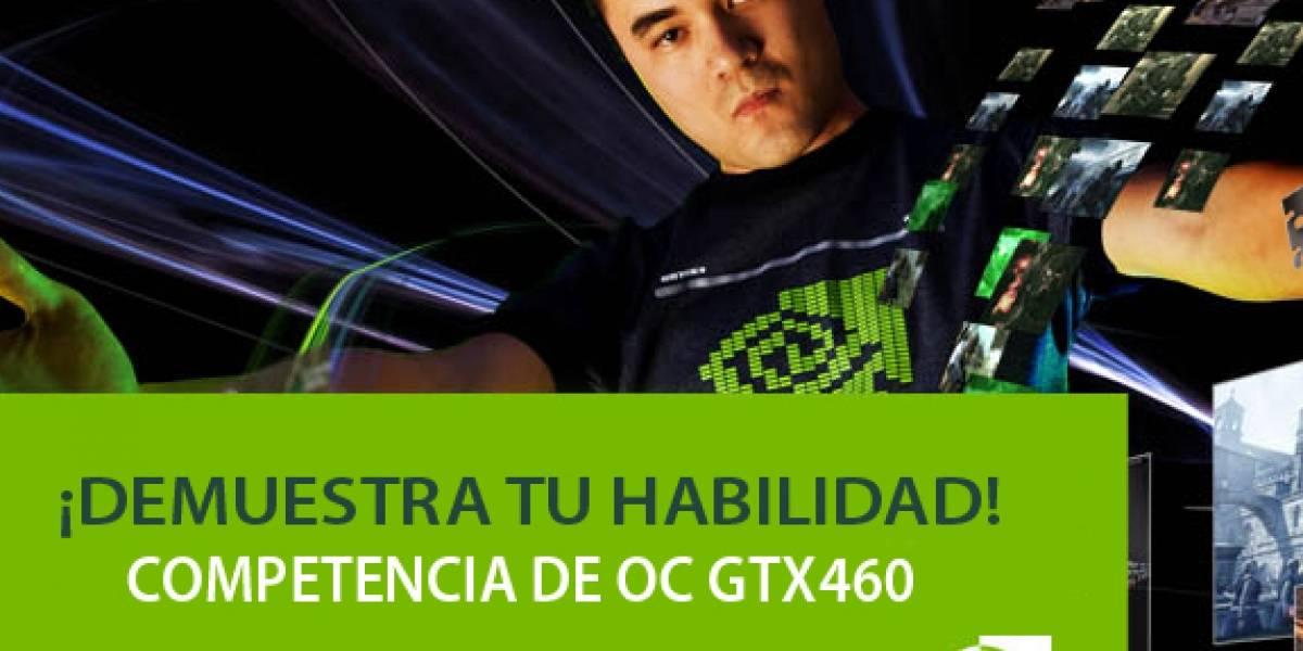Competencia overclock GTX 460