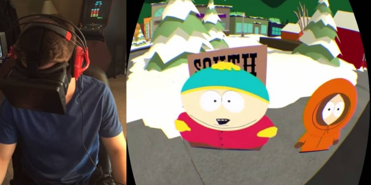Explora South Park con Oculus Rift