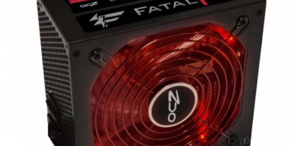 OCZ presenta nueva fuente Fatal1ty de 750W
