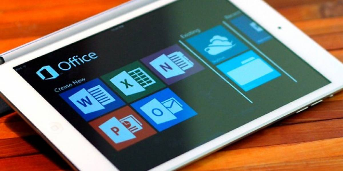 Office para iPad se actualiza con importantes nuevas funciones