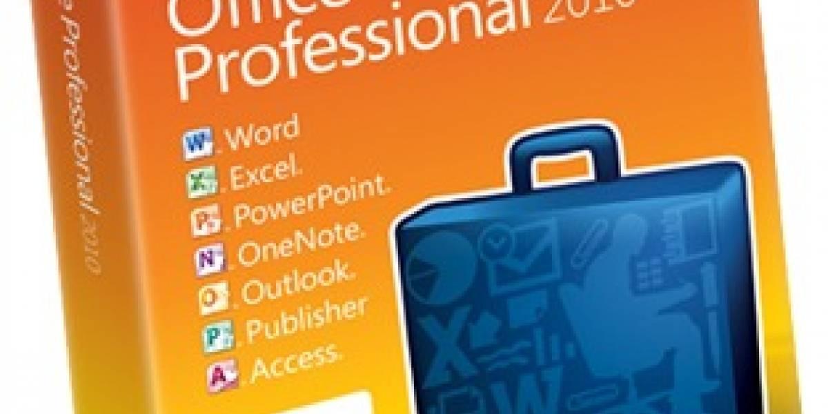 Microsoft Office ya es oficialmente 2010