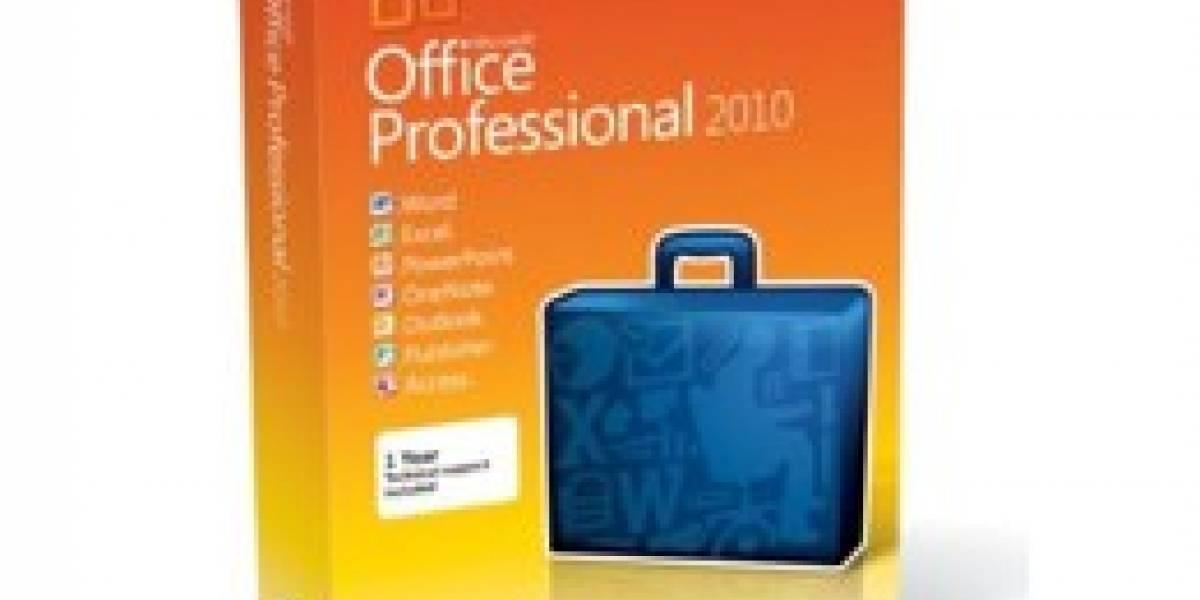 Microsoft Office 2010 debuta globlalmente el día de hoy