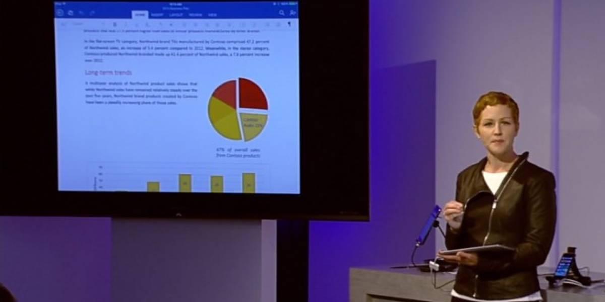 Microsoft lanza oficialmente Office para iPad