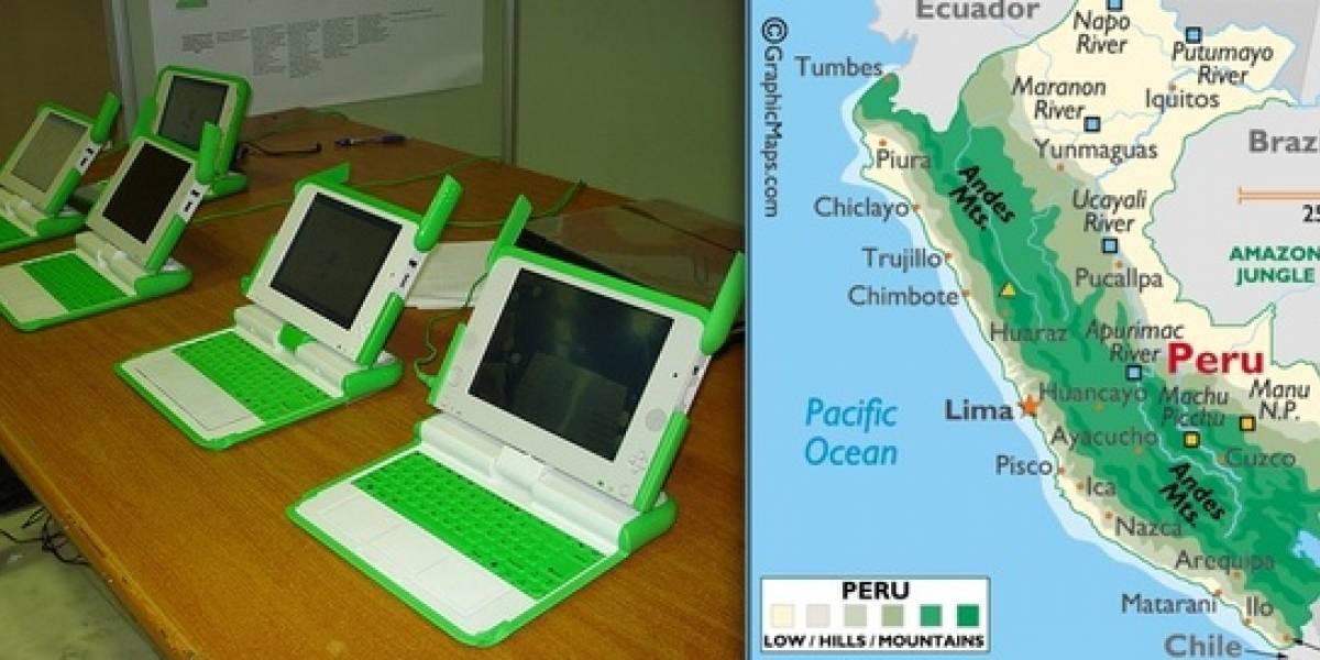66 OLPC robados en localidad rural peruana