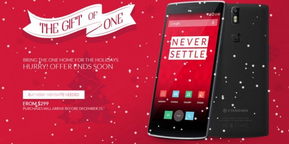 Ya puedes comprar el OnePlus One sin necesidad de una invitación