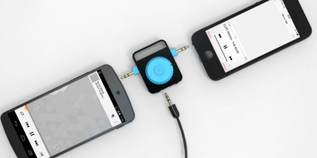 Diminuto mezclador de audio para celulares busca fondos en Kickstarter