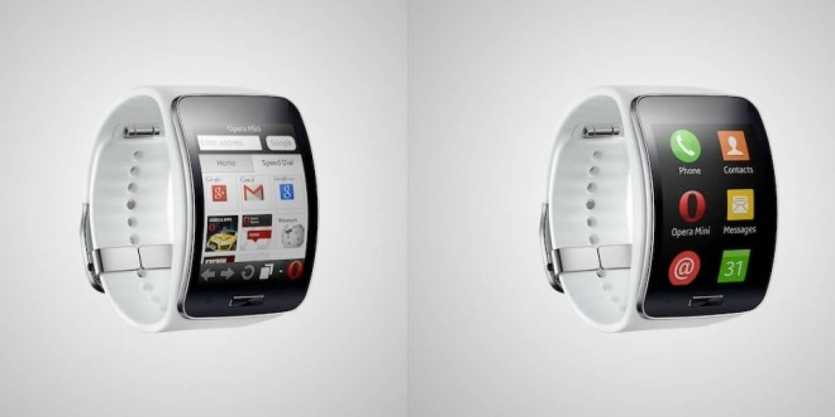 Opera Mini llega al Samsung Gear S