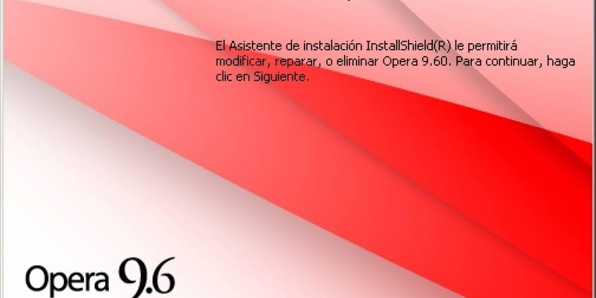 Opera 9.60 Lanzado