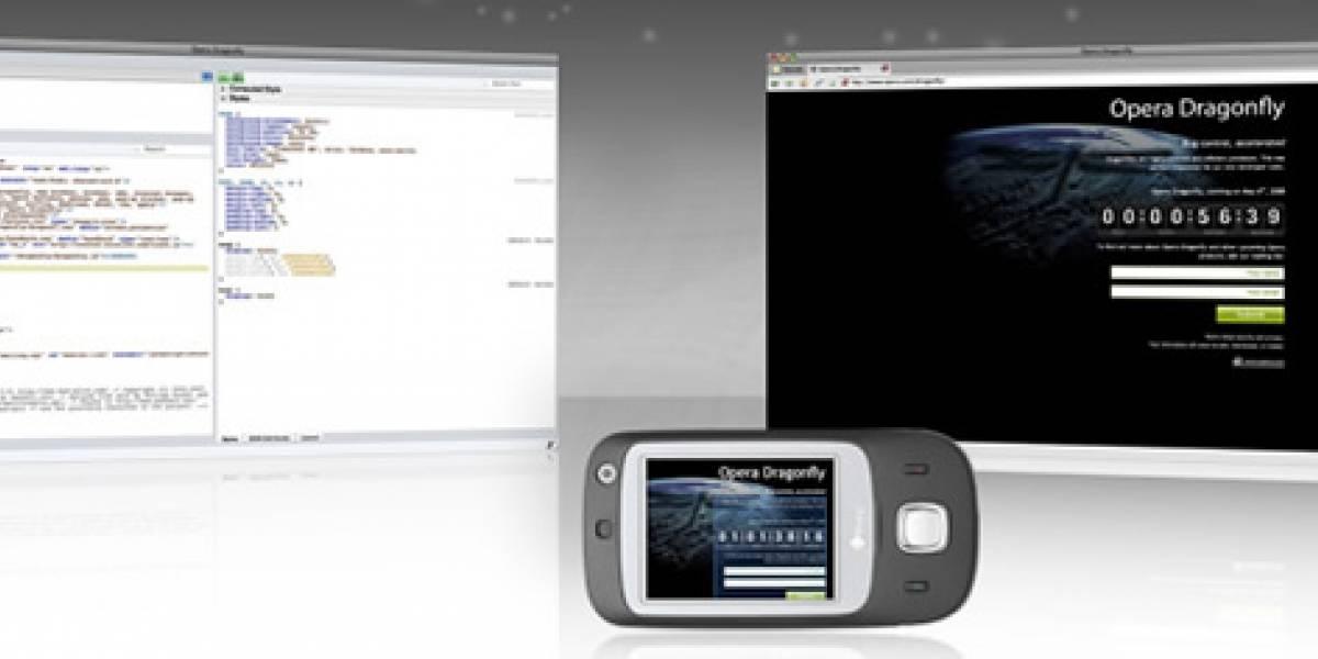 DragonFly: Herramientas de desarrollo web en Opera