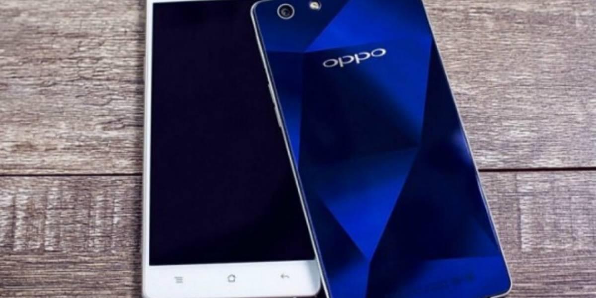 Oppo R1C es un smartphone de gama media con cubierta de zafiro