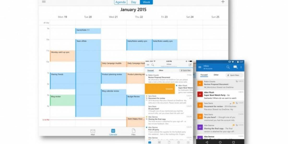 Microsoft lanza Outlook para iOS y Android