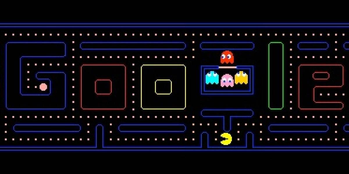 Google celebra los 30 años de Pac-man con un logotipo jugable