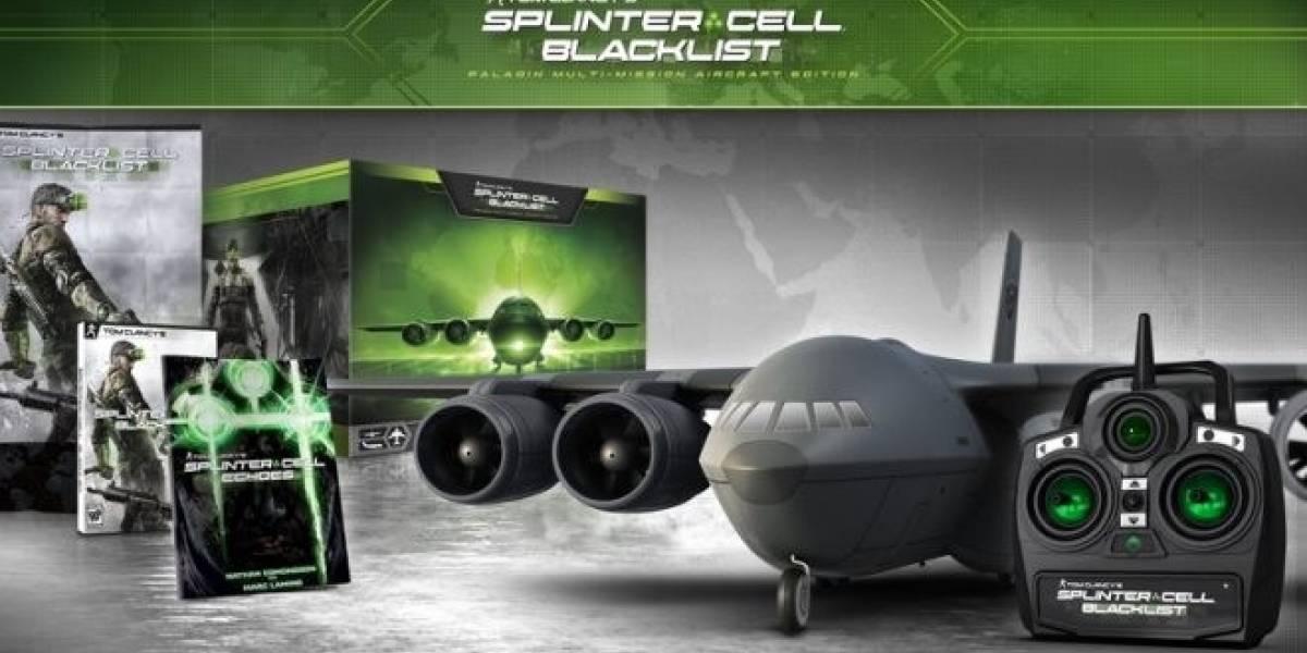 Edición de colección de Splinter Cell: Blacklist incluirá un avión a control remoto