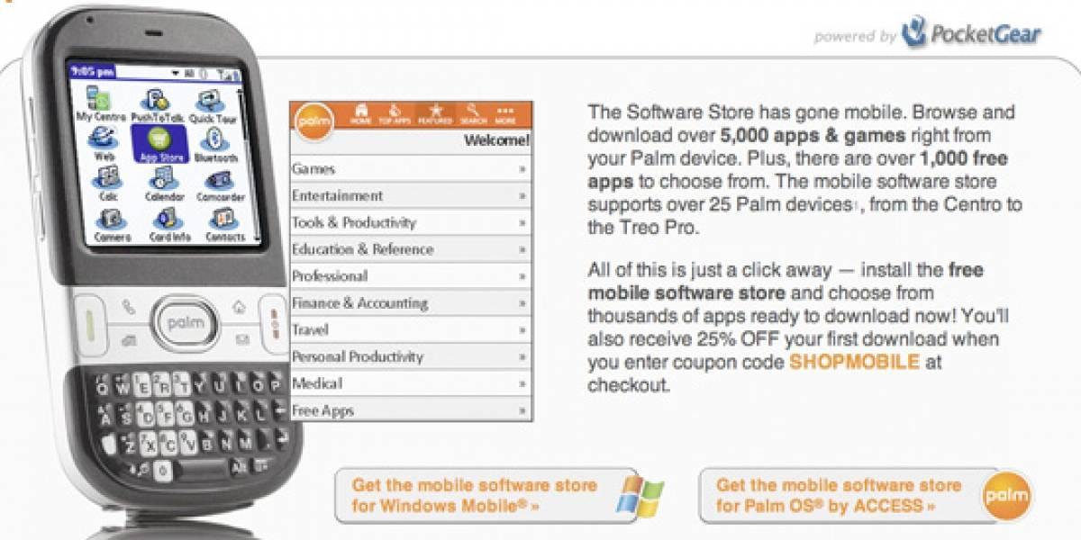 Palm lanza tienda de aplicaciones