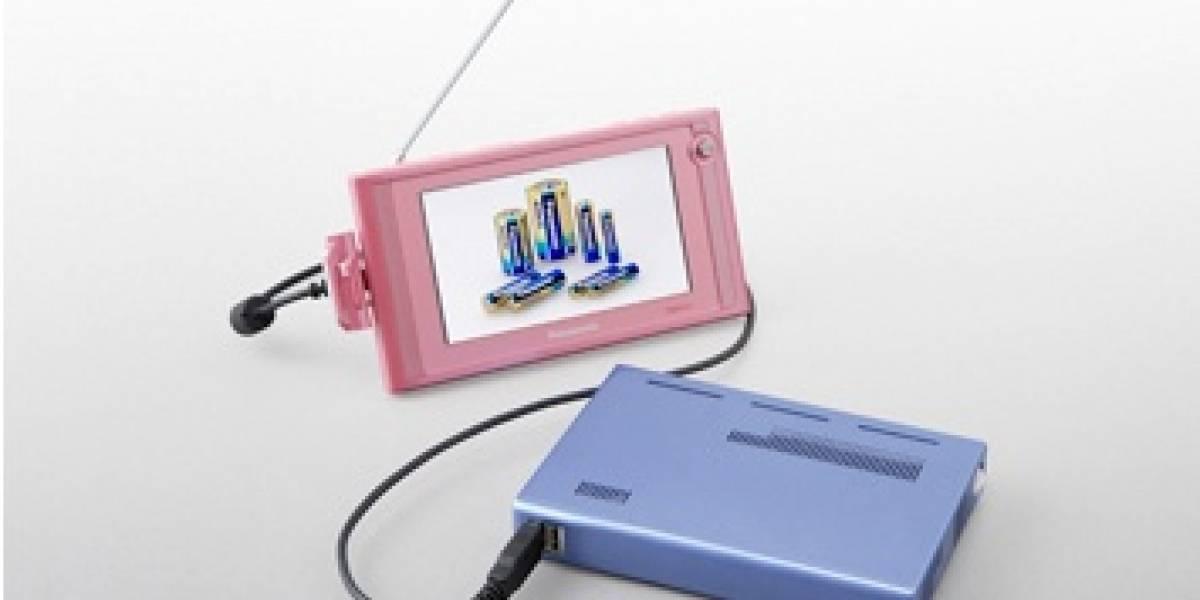 Panasonic muestra dos prototipos de baterías que usan celdas de combustible