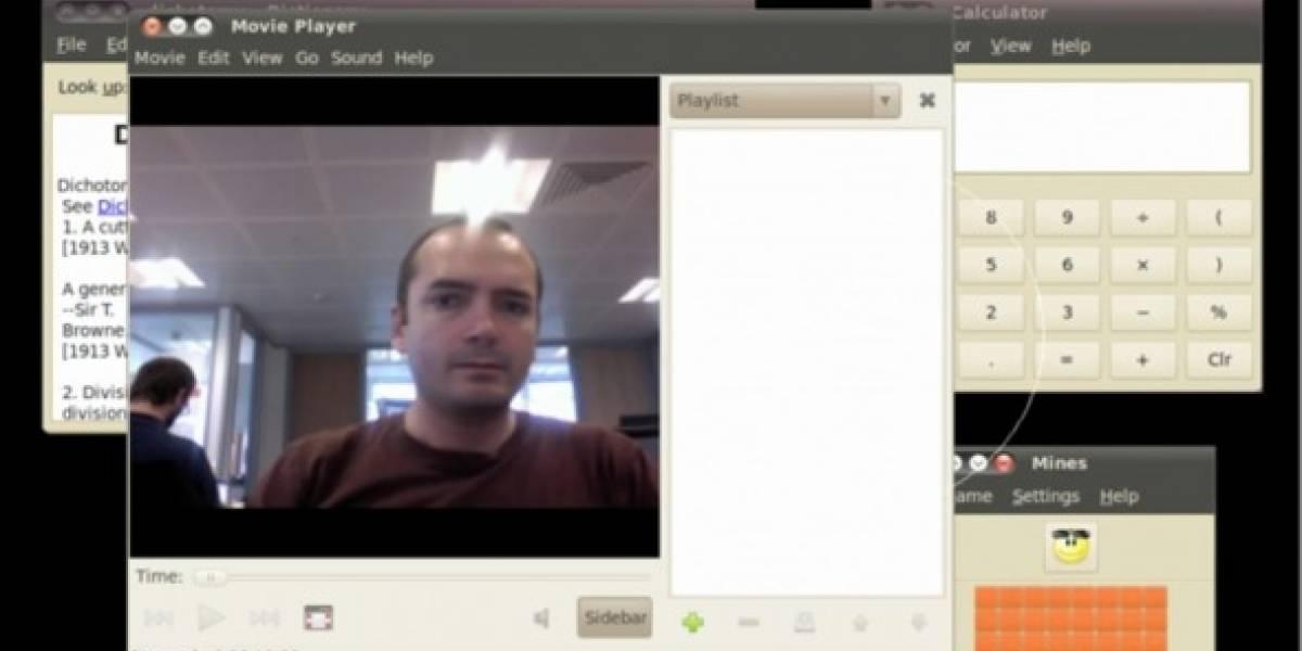 Ubuntu trabaja en reconocimiento facial para manejar la interfaz de usuario