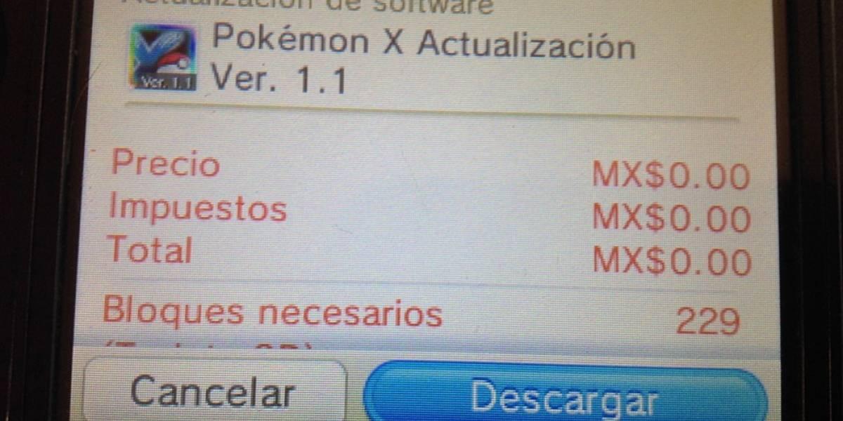 Ya está disponible el parche para corregir el bug en Pokémon X/Y