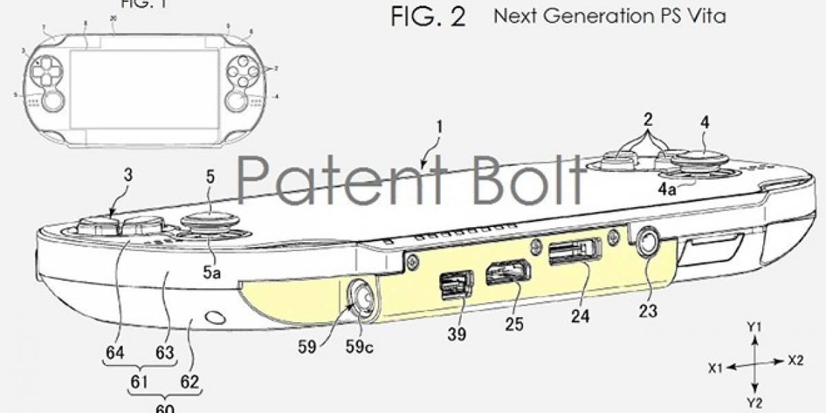Se filtra patente de PlayStation Vita con puerto USB y salida HDMI