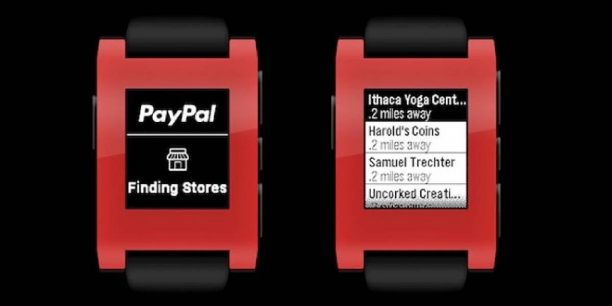 Ya puedes pagar con PayPal usando tu Pebble
