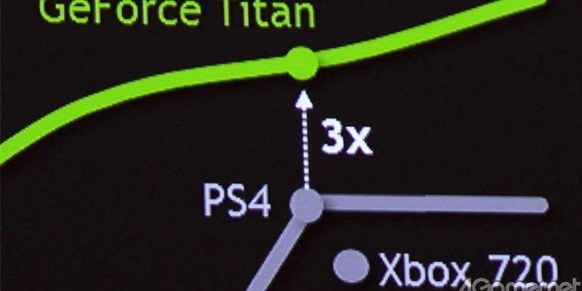 NVIDIA: PlayStation 4 y Xbox 720 son 3 veces más lentas que el PC