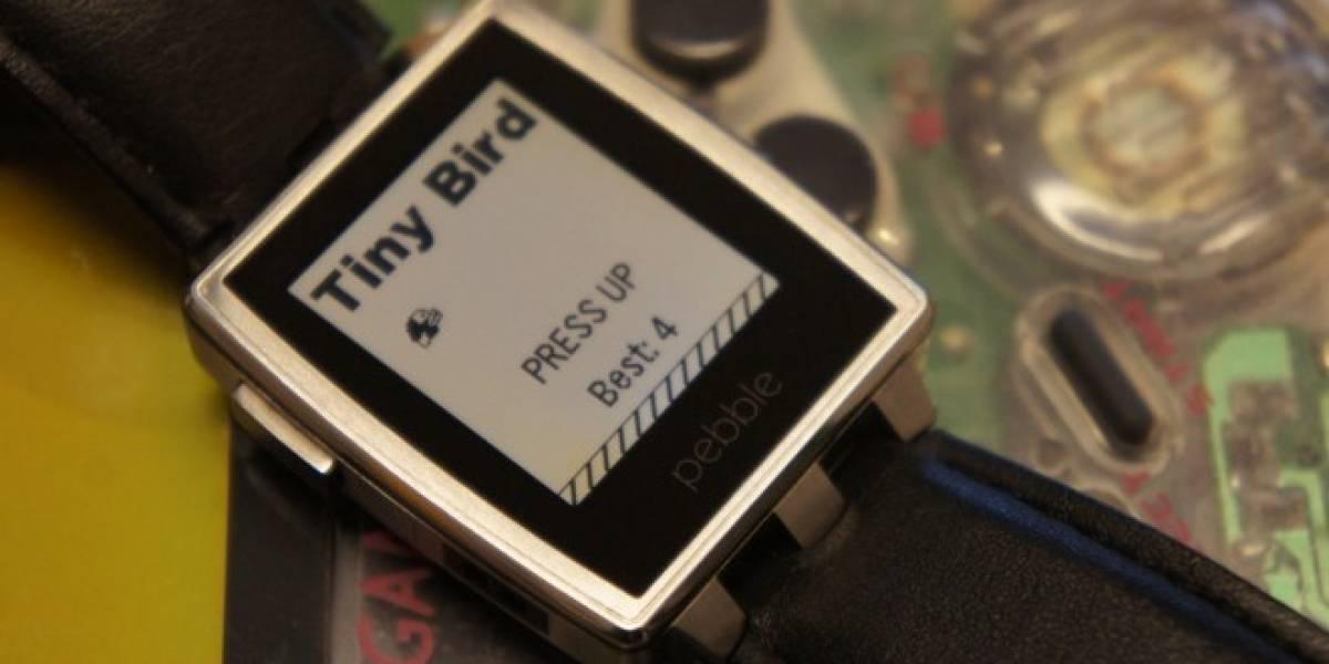 Pebble ya superó el millón de ventas de su reloj inteligente