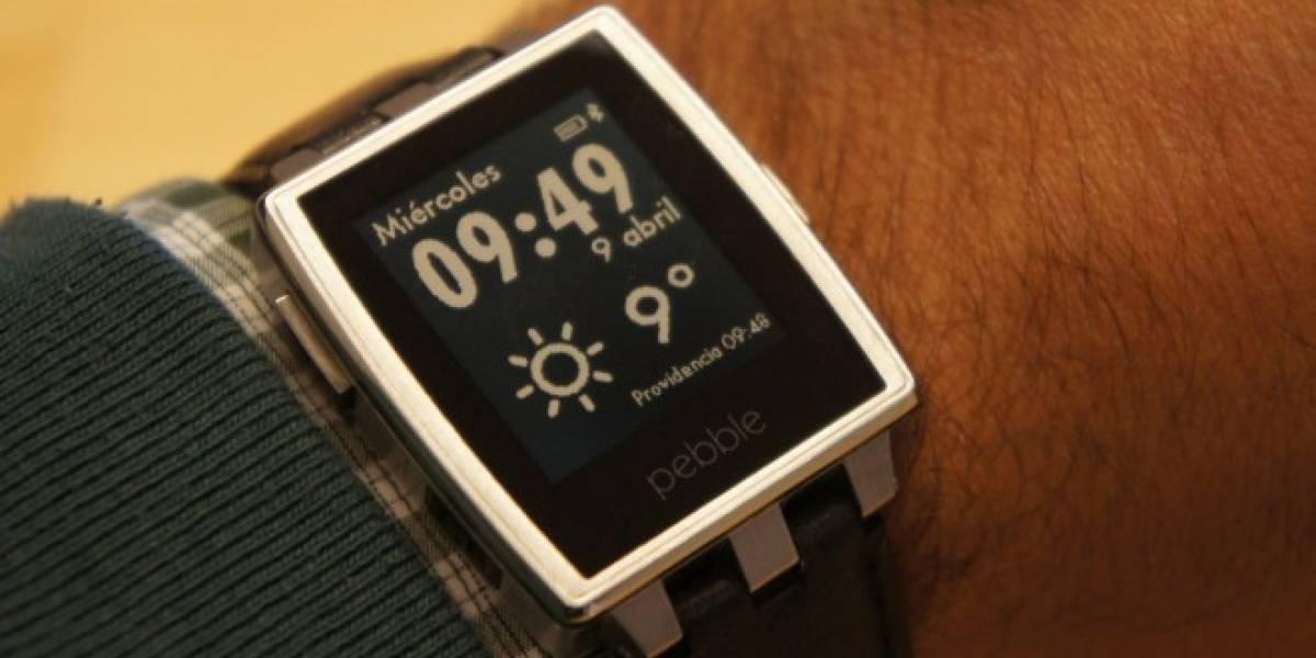 Hoy se lanza el nuevo Pebble Watch