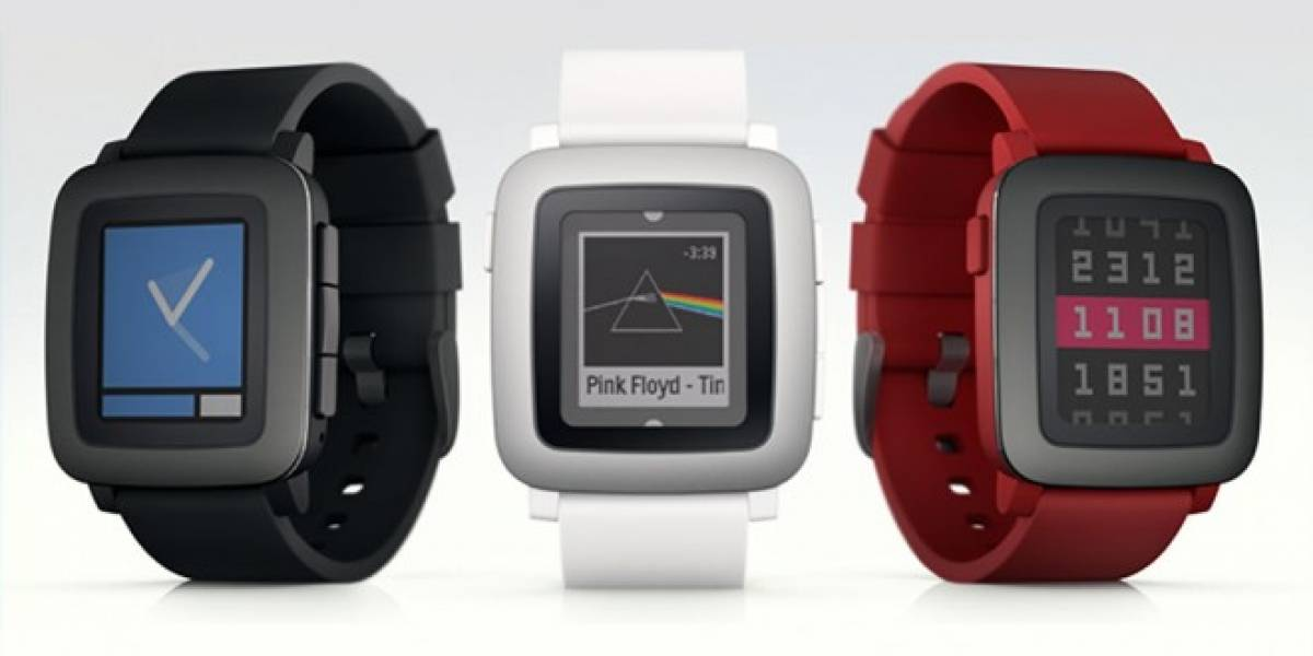 Pebble Time es el nuevo smartwatch con pantalla a color de Pebble