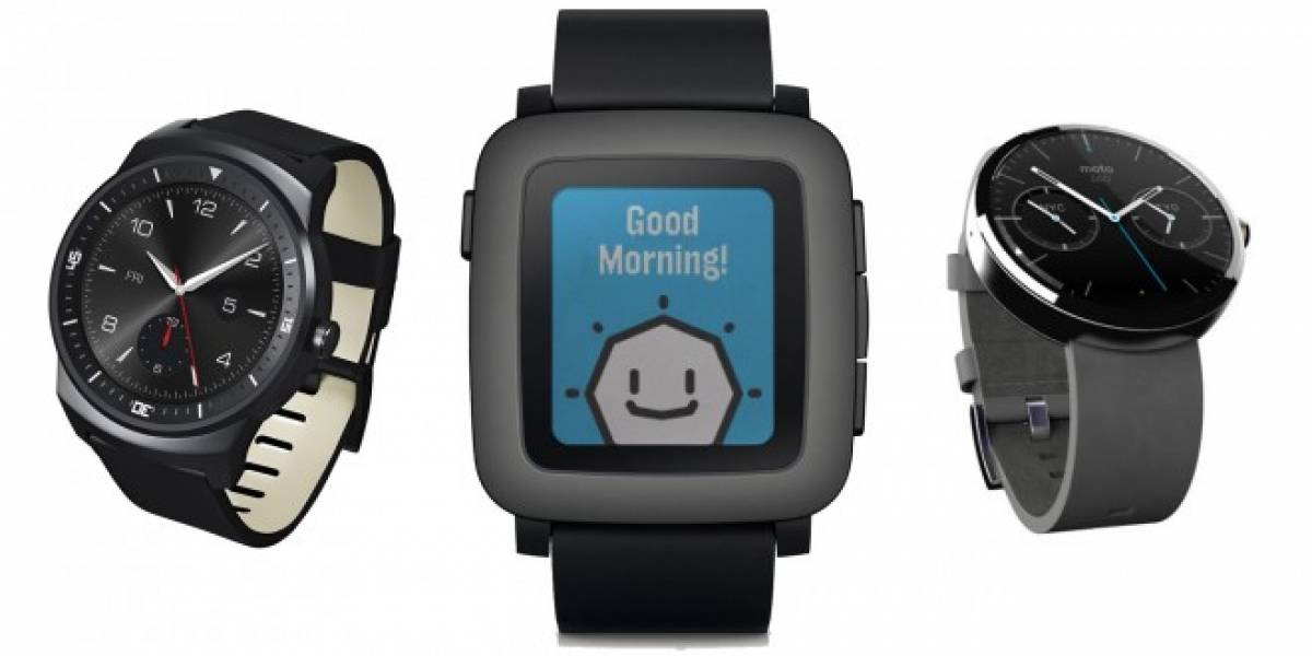 Tabla comparativa: Pebble Time vs relojes inteligentes actuales