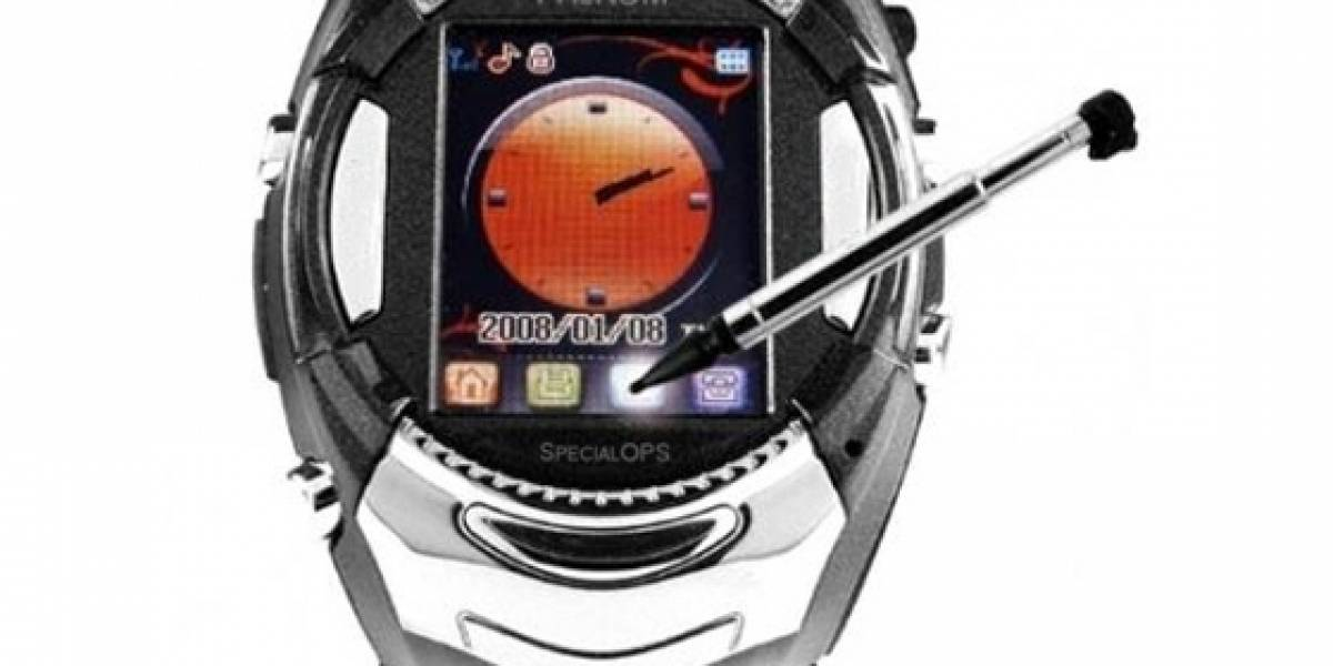 Phenom Watch Phone: Pantalla táctil y reproductor de MP3 incluido