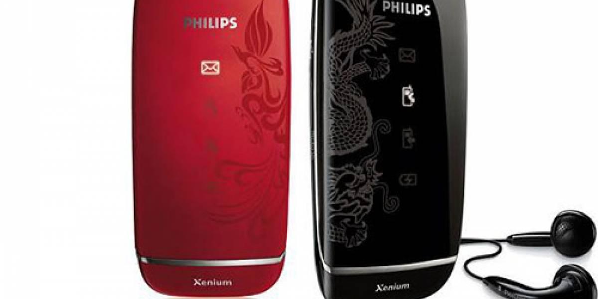 Philips tiene un fénix y un dragón muy sexies
