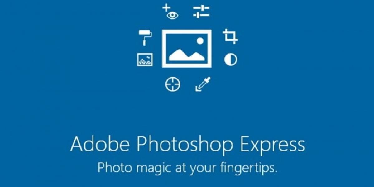 Adobe Photoshop Express llega a Windows Phone
