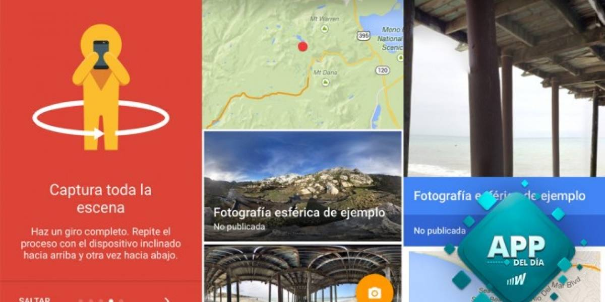 Photo Sphere Camera llega a iOS para capturar fotos en 360º [App del día]