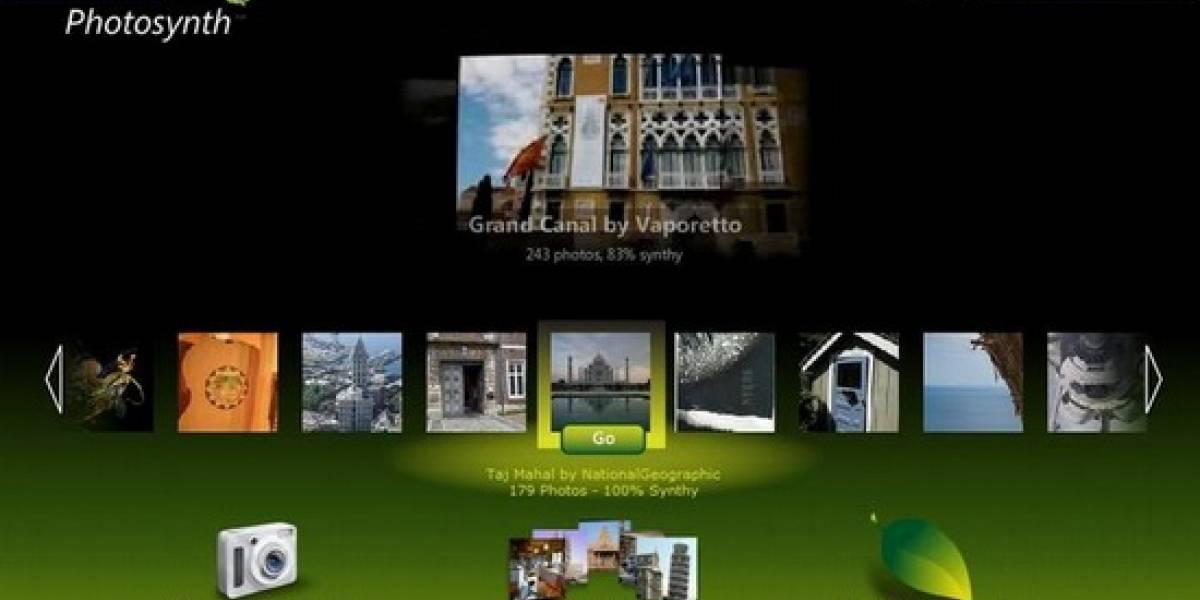 Microsoft hace pública su impresionante herramienta Photosynth