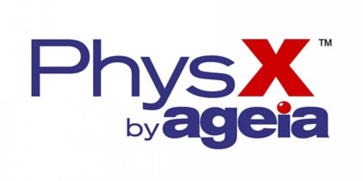 NVIDIA le corta el oxígeno a Ageia PhysX
