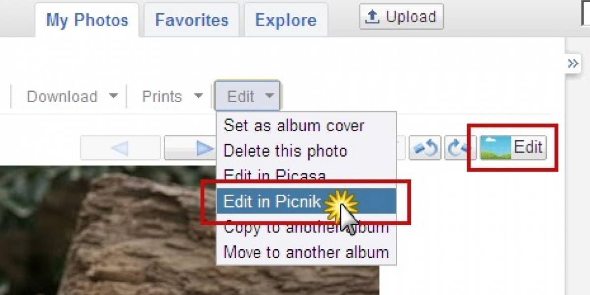Picasa incorpora edición en Picnik