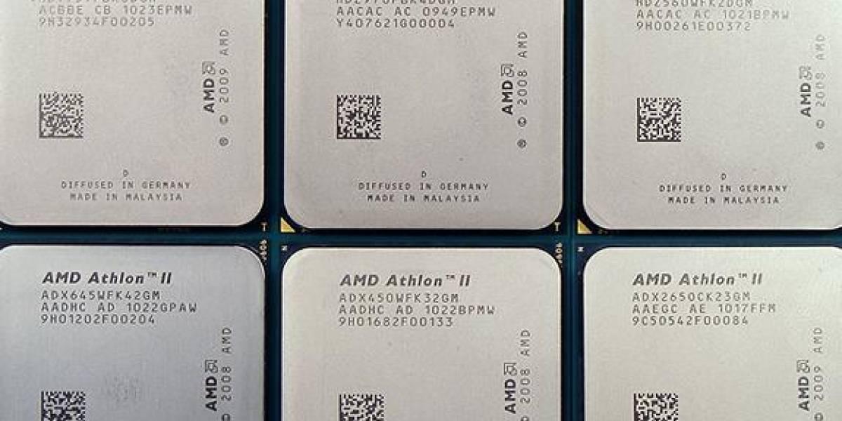 Seis nuevos procesadores AMD
