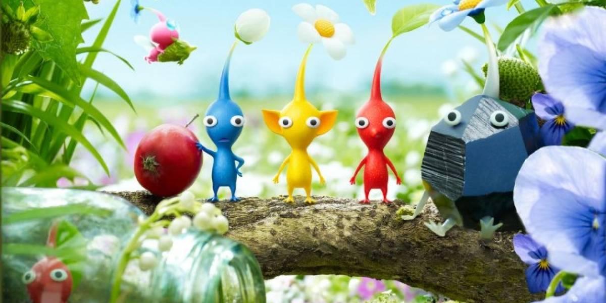 Los diferentes tipos de Pikmin en el nuevo tráiler de Pikmin 3