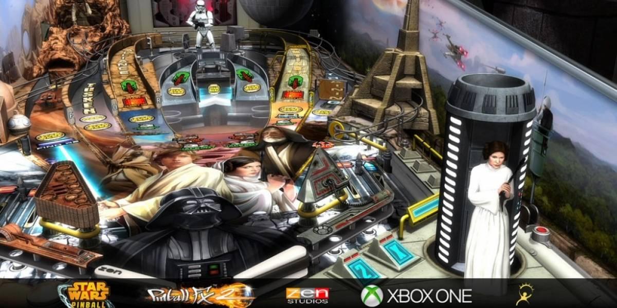 Pinball FX 2 llegará a Xbox One a finales de julio