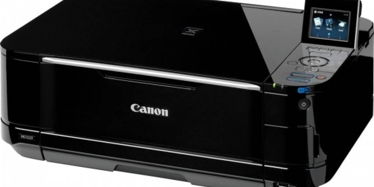 Canon lanza una serie de impresoras con tecnología Full HD Movie Print